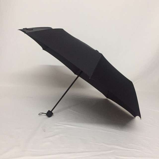 Shenzhen umbrella factory custom 21 inch 8 bone tri-fold gift umbrella