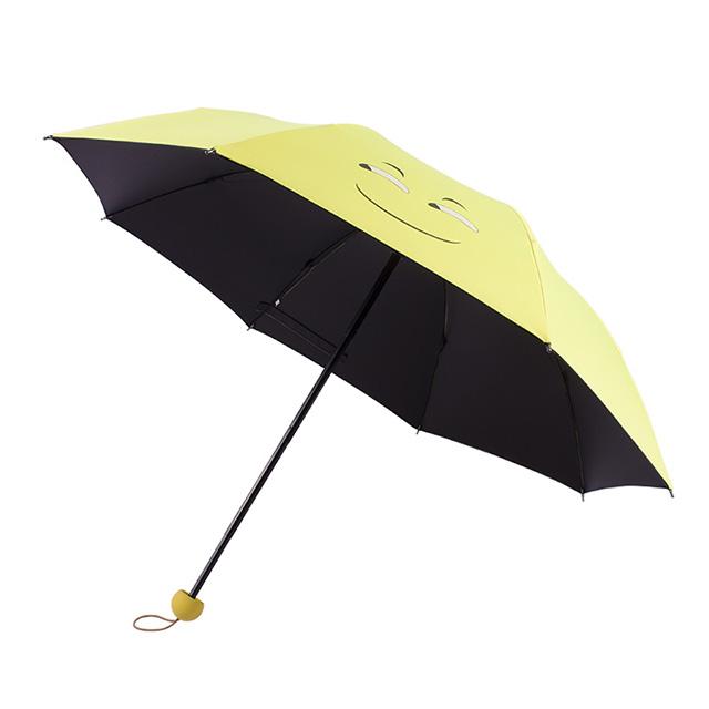 万博体育官网客户端厂家低价促销三折黑胶折叠伞