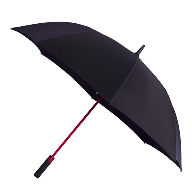 深圳市西藏11选5-高尔夫伞厂家定制27寸红色纤维伞骨的轮胎手柄的高尔夫伞